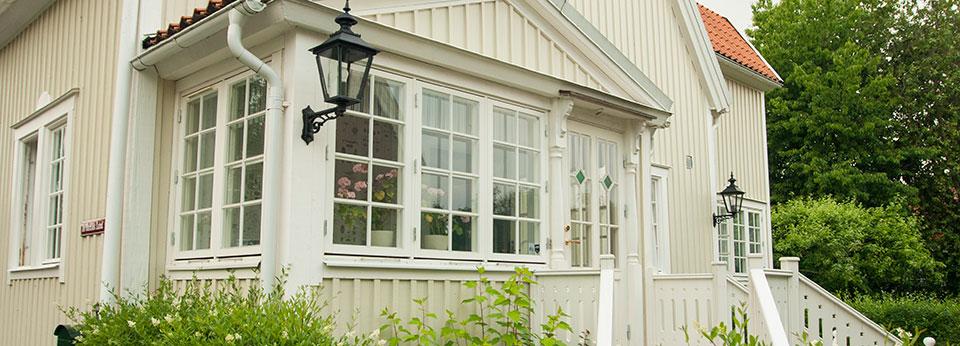 Målade fönster